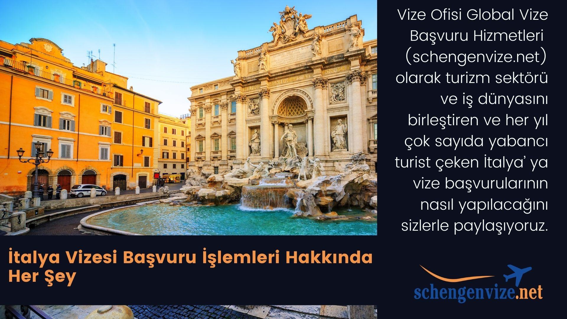 İtalya Vizesi Kesin Kılavuz 2020