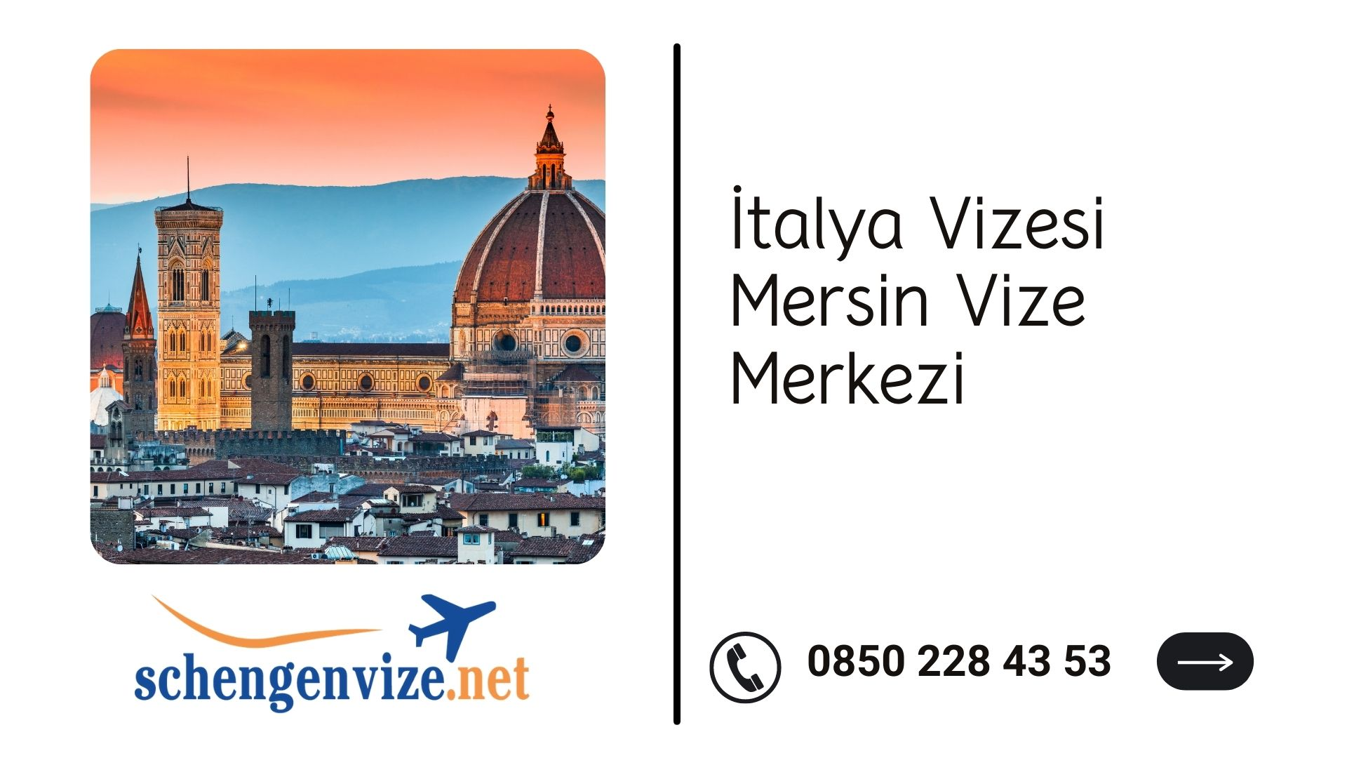 İtalya Vizesi Mersin Vize Merkezi