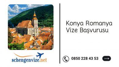 Konya Romanya Vize Başvurusu