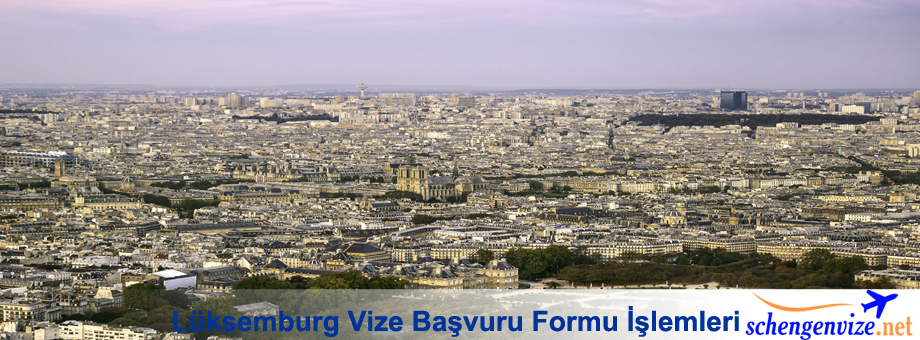 Lüksemburg Vize Başvuru Formu İşlemleri