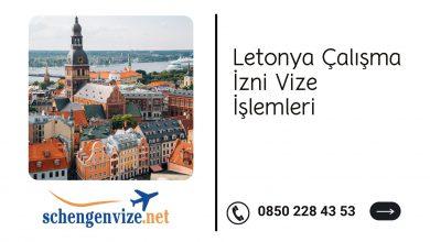 Letonya Çalışma İzni Vize İşlemleri