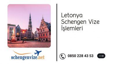 Letonya Schengen Vize İşlemleri