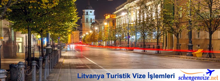 Litvanya Turistik Vize İşlemleri