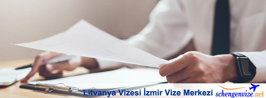 Litvanya Vizesi İzmir Vize Merkezi