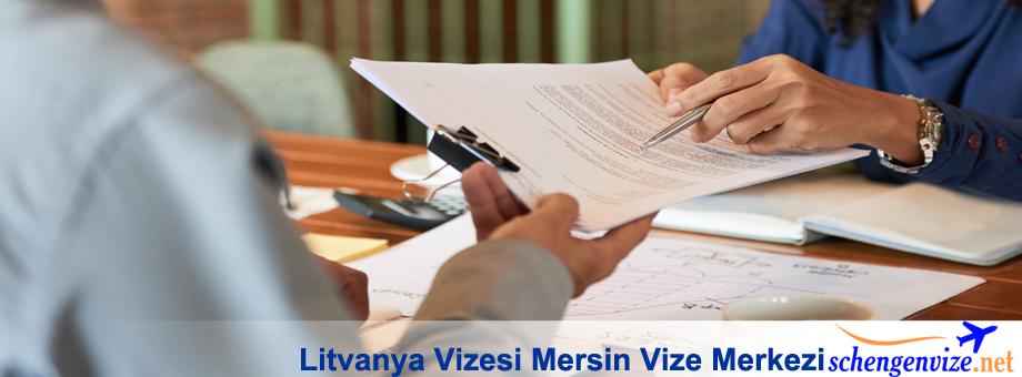 Litvanya Vizesi Mersin Vize Merkezi