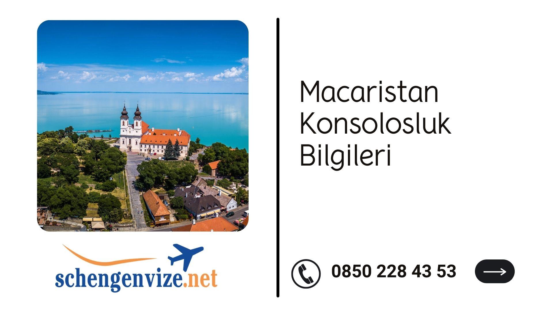 Macaristan Konsolosluk Bilgileri