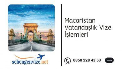 Macaristan Vatandaşlık Vize İşlemleri