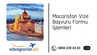 Macaristan Vize Başvuru Formu İşlemleri