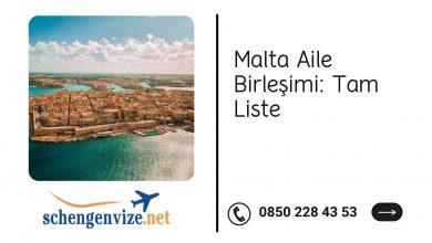 Malta Aile Birleşimi: Tam Liste 2021
