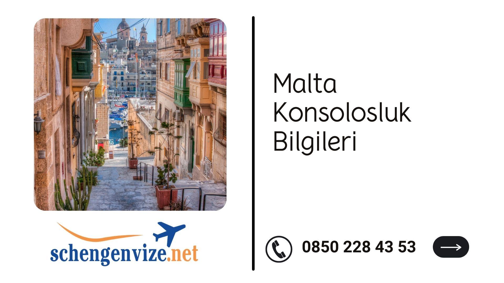 Malta Konsolosluk Bilgileri