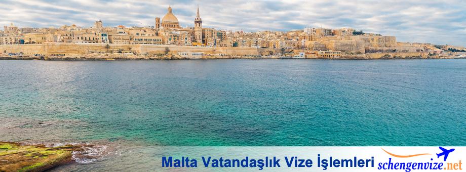 Malta Vatandaşlık Vize İşlemleri