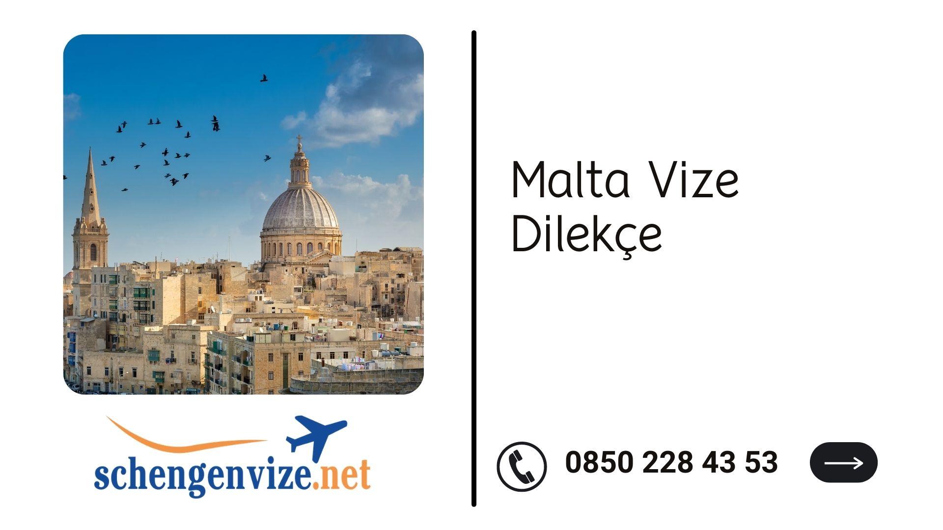 Malta Vize Dilekçe