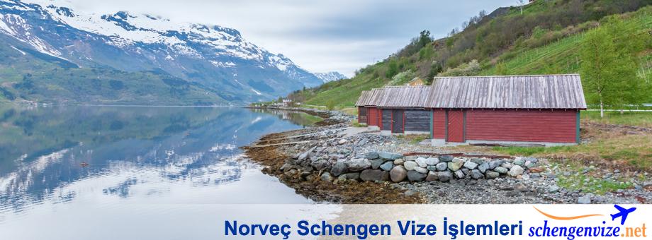 Norveç Schengen Vize İşlemleri
