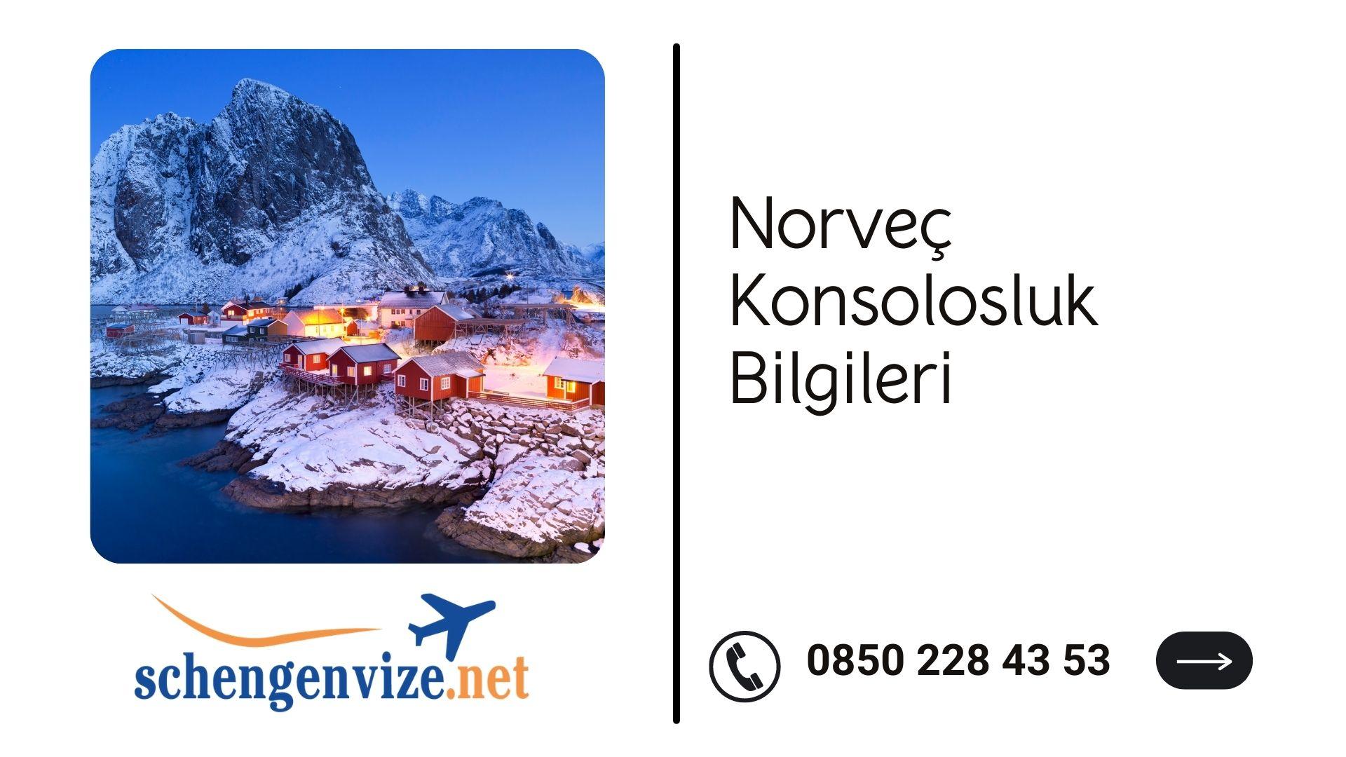 Norveç Konsolosluk Bilgileri