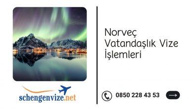 Norveç Vatandaşlık Vize İşlemleri