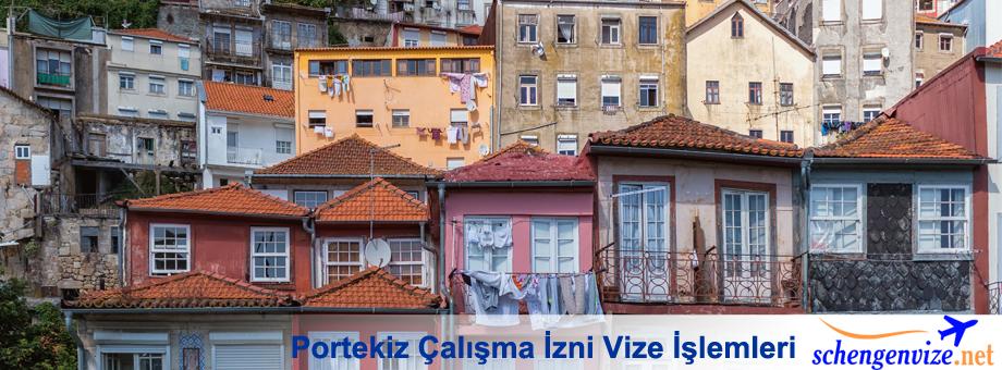 Portekiz Çalışma İzni Vize İşlemleri