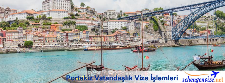 Portekiz Vatandaşlık Vize İşlemleri