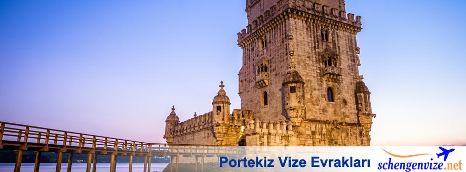 Portekiz Vize Evrakları