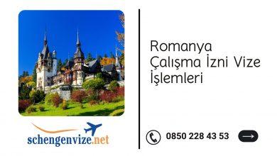 Romanya Çalışma İzni Vize İşlemleri