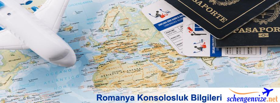 Romanya Konsolosluk Bilgileri
