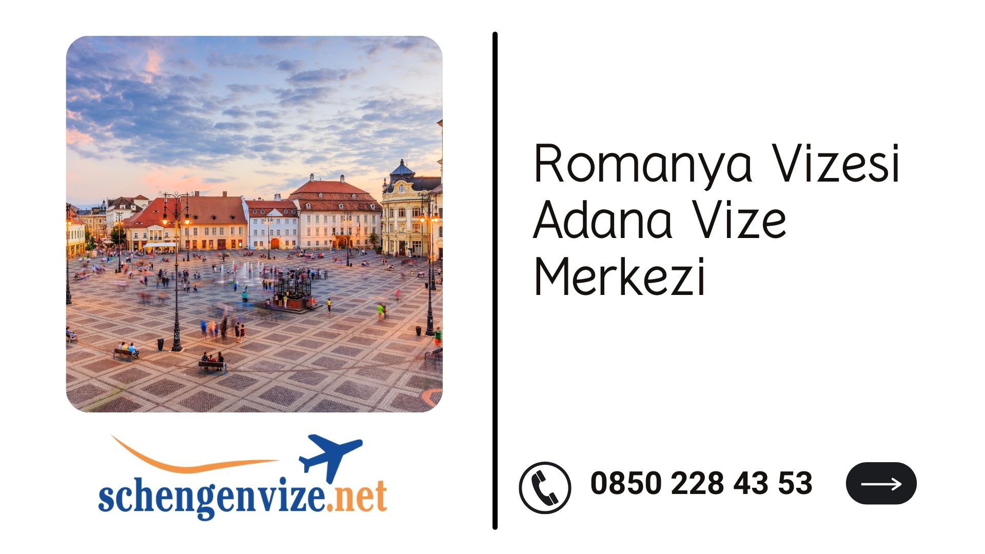 Romanya Vizesi Adana Vize Merkezi