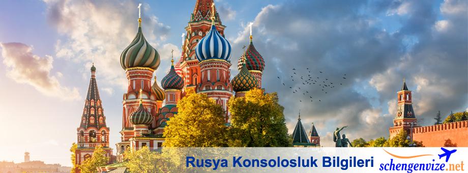 Rusya Konsolosluk Bilgileri