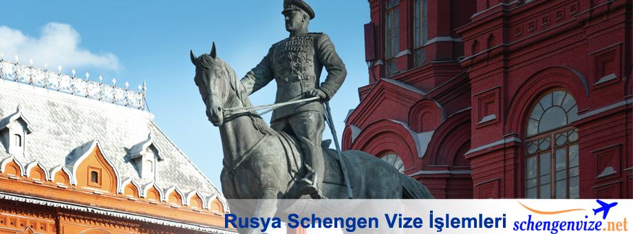 Rusya Schengen Vize İşlemleri