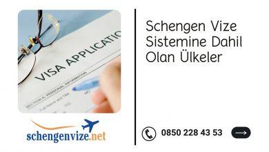 Schengen Vize Sistemine Dahil Olan Ülkeler