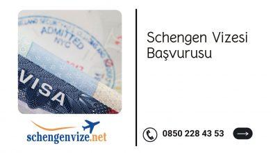 Schengen Vizesi Başvurusu