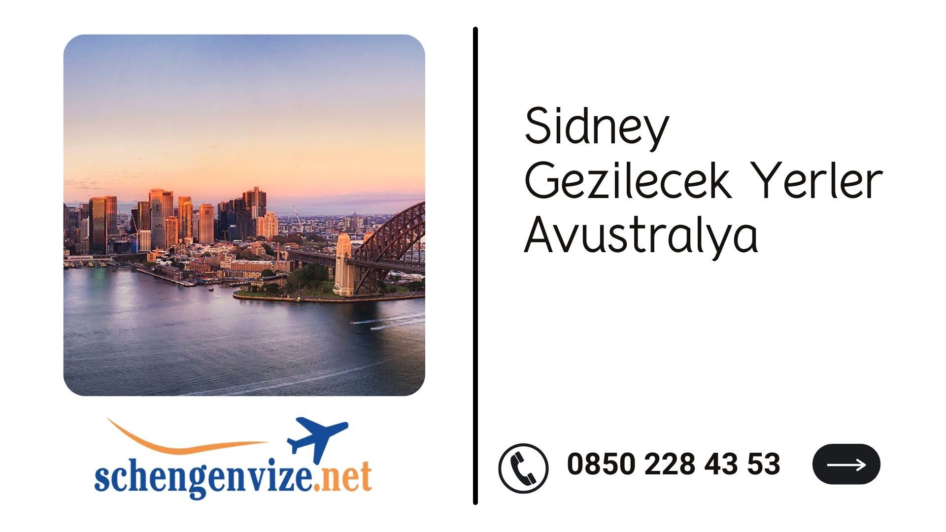 Sidney Gezilecek Yerler Avustralya