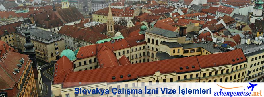 Slovakya Çalışma İzni Vize İşlemleri