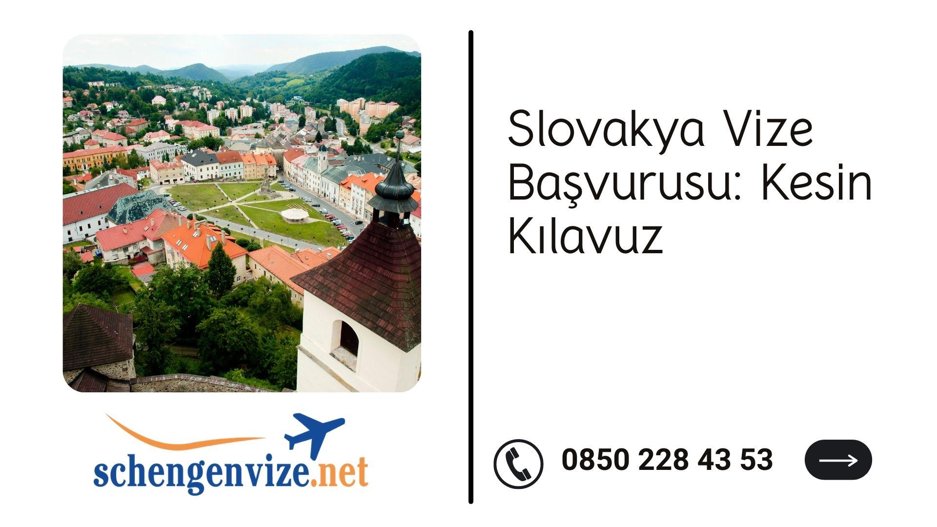 Slovakya Vize Başvurusu: Kesin Kılavuz 2021