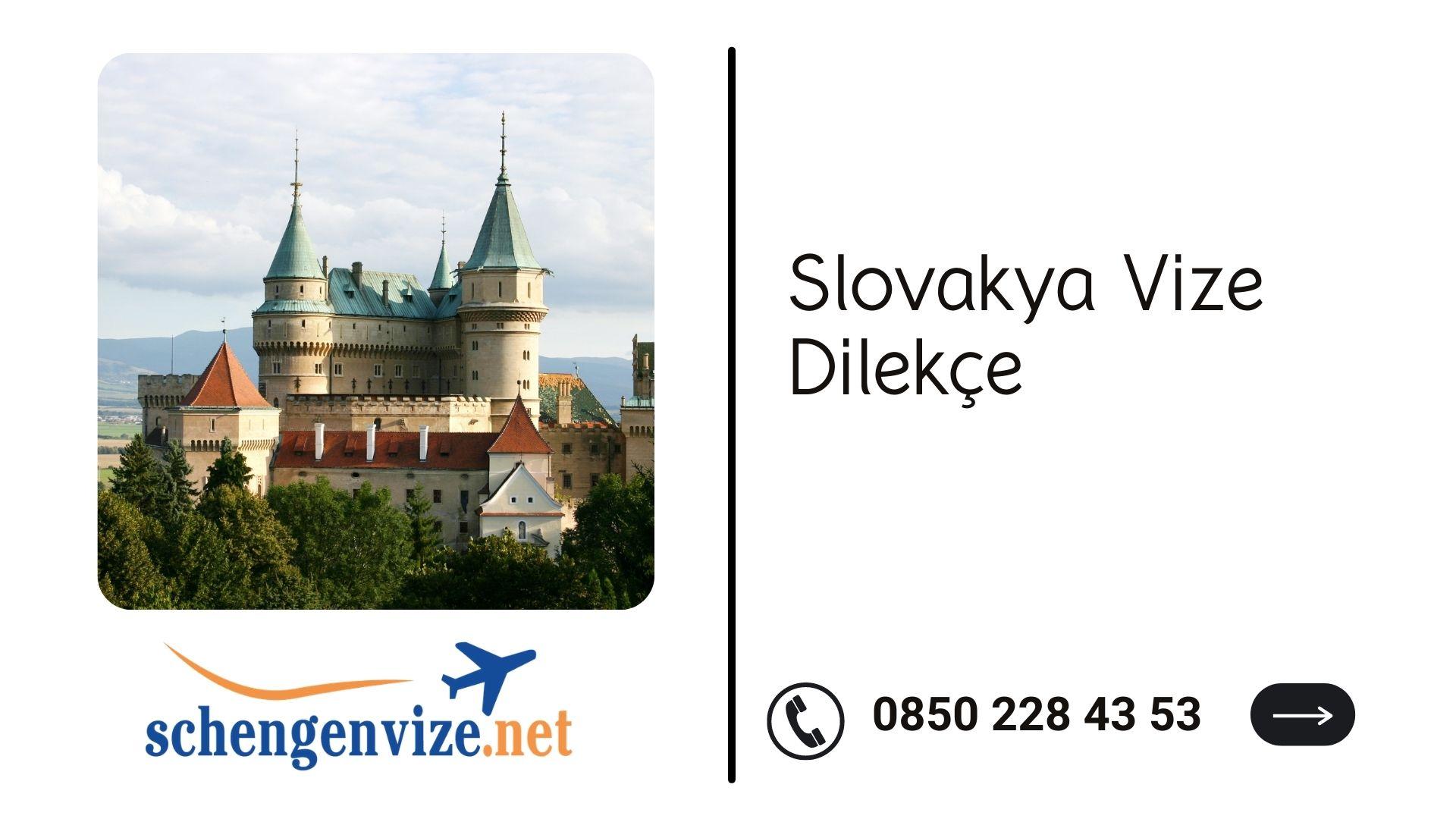 Slovakya Vize Dilekçe