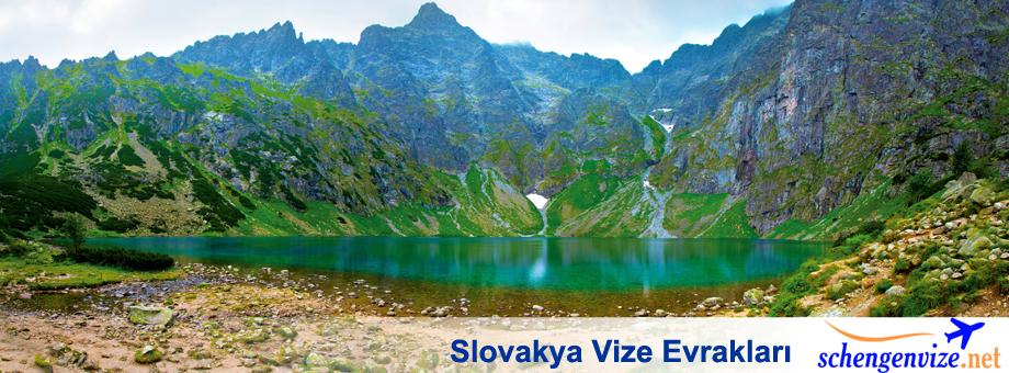 Slovakya Vize Evrakları