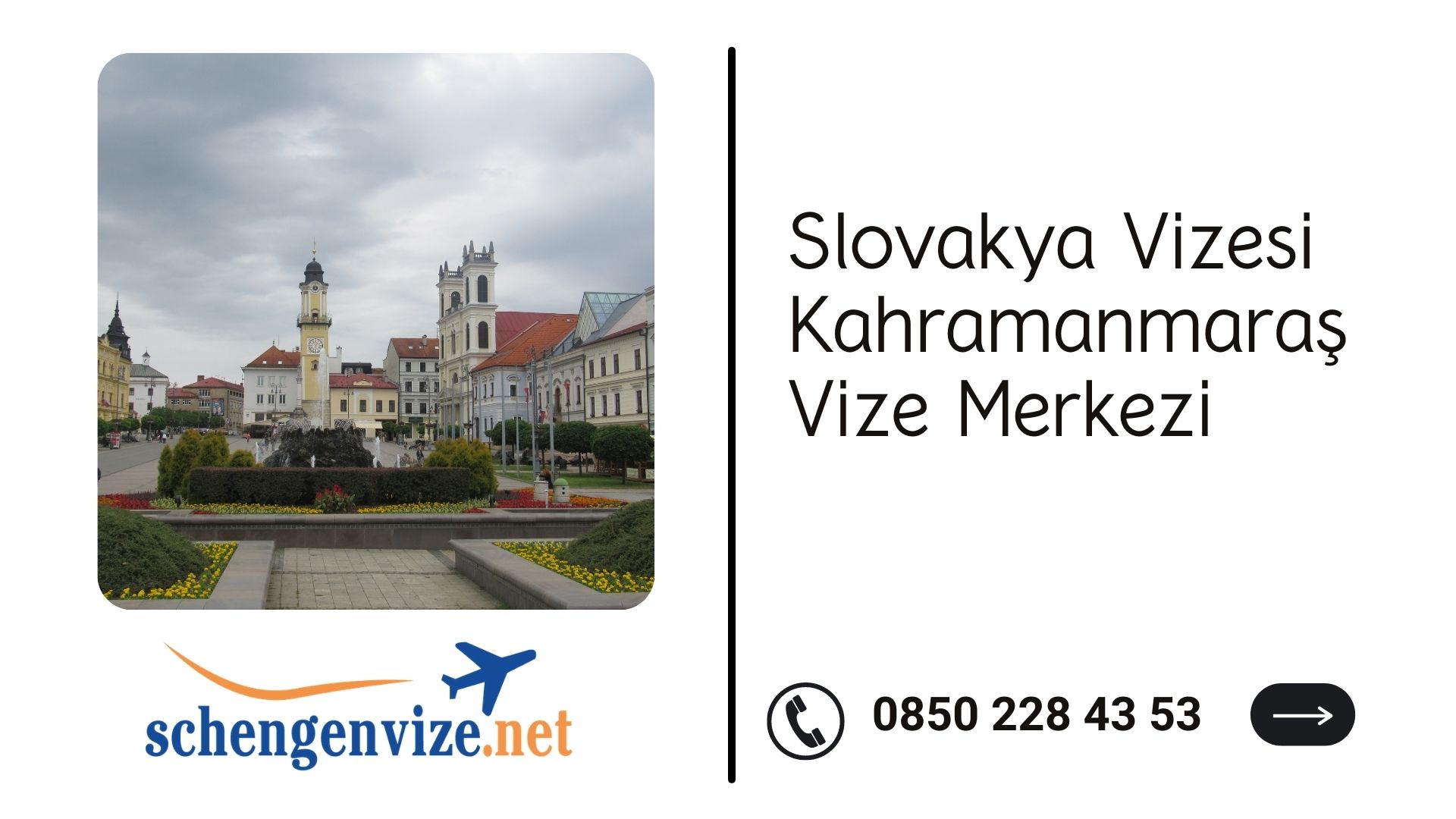 Slovakya Vizesi Kahramanmaraş Vize Merkezi