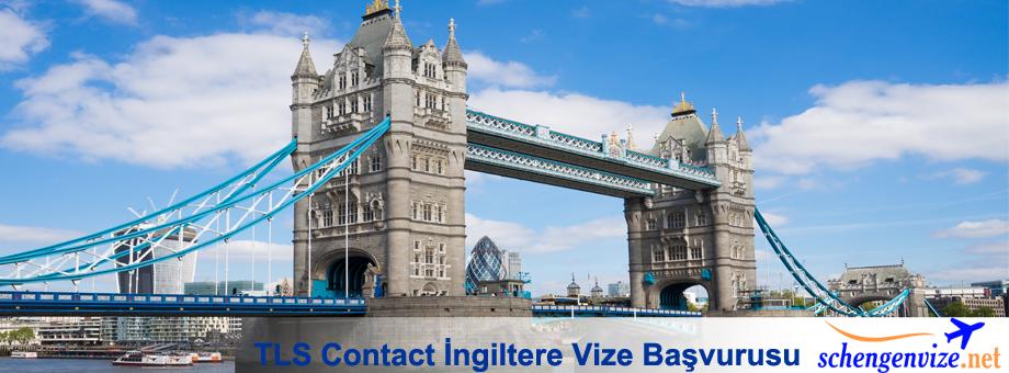 TLS Contact, TLS Contact İngiltere Vize Başvurusu