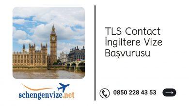 TLS Contact İngiltere Vize Başvurusu
