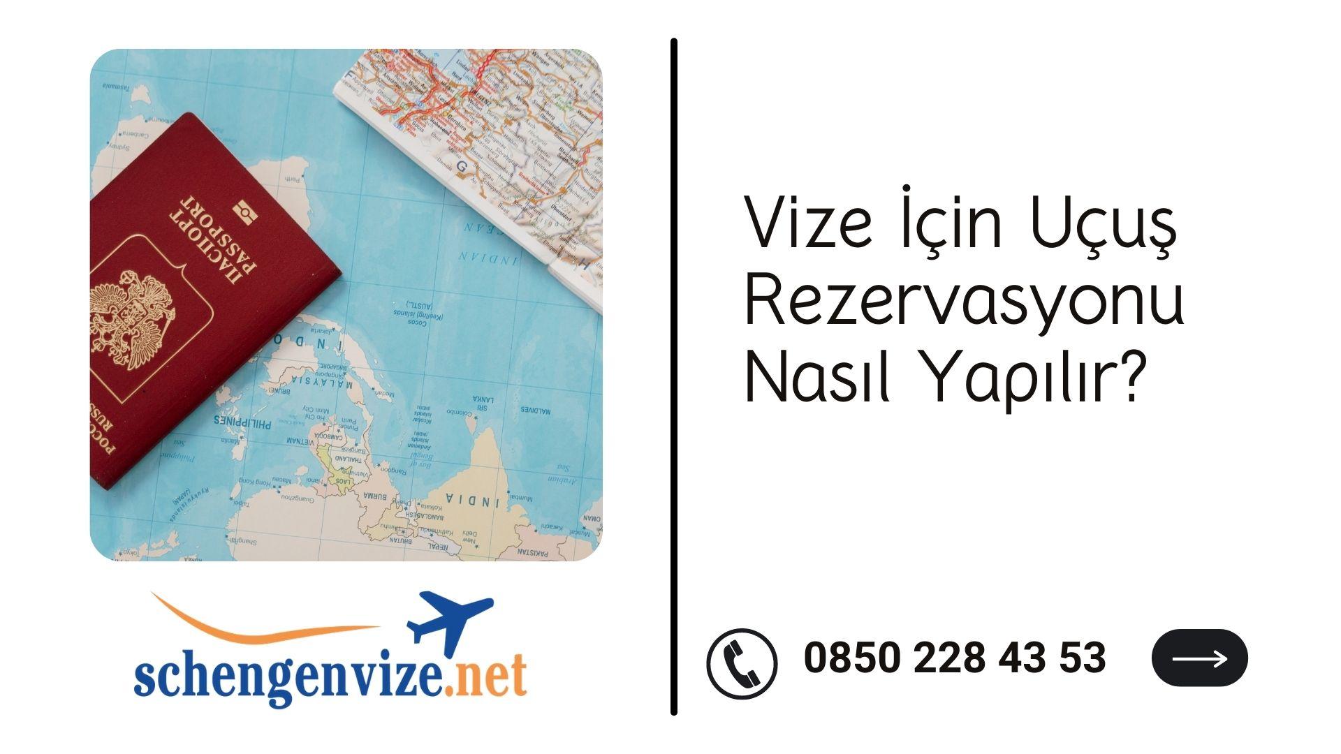Vize İçin Uçuş Rezervasyonu Nasıl Yapılır?