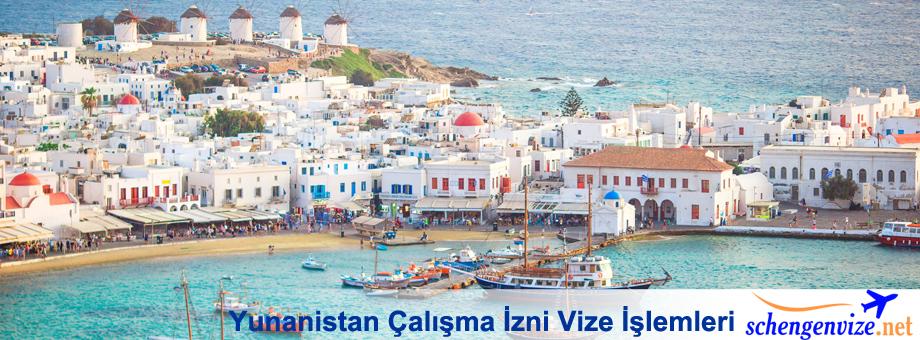 Yunanistan Çalışma İzni Vize İşlemleri