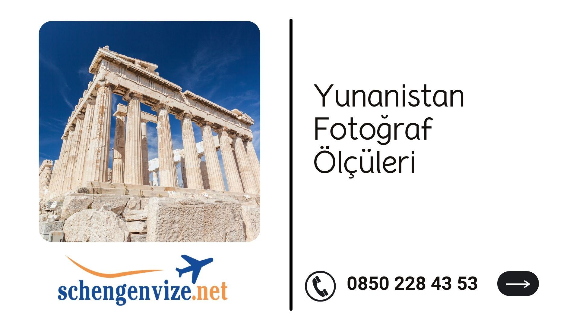 Yunanistan Fotoğraf Ölçüleri