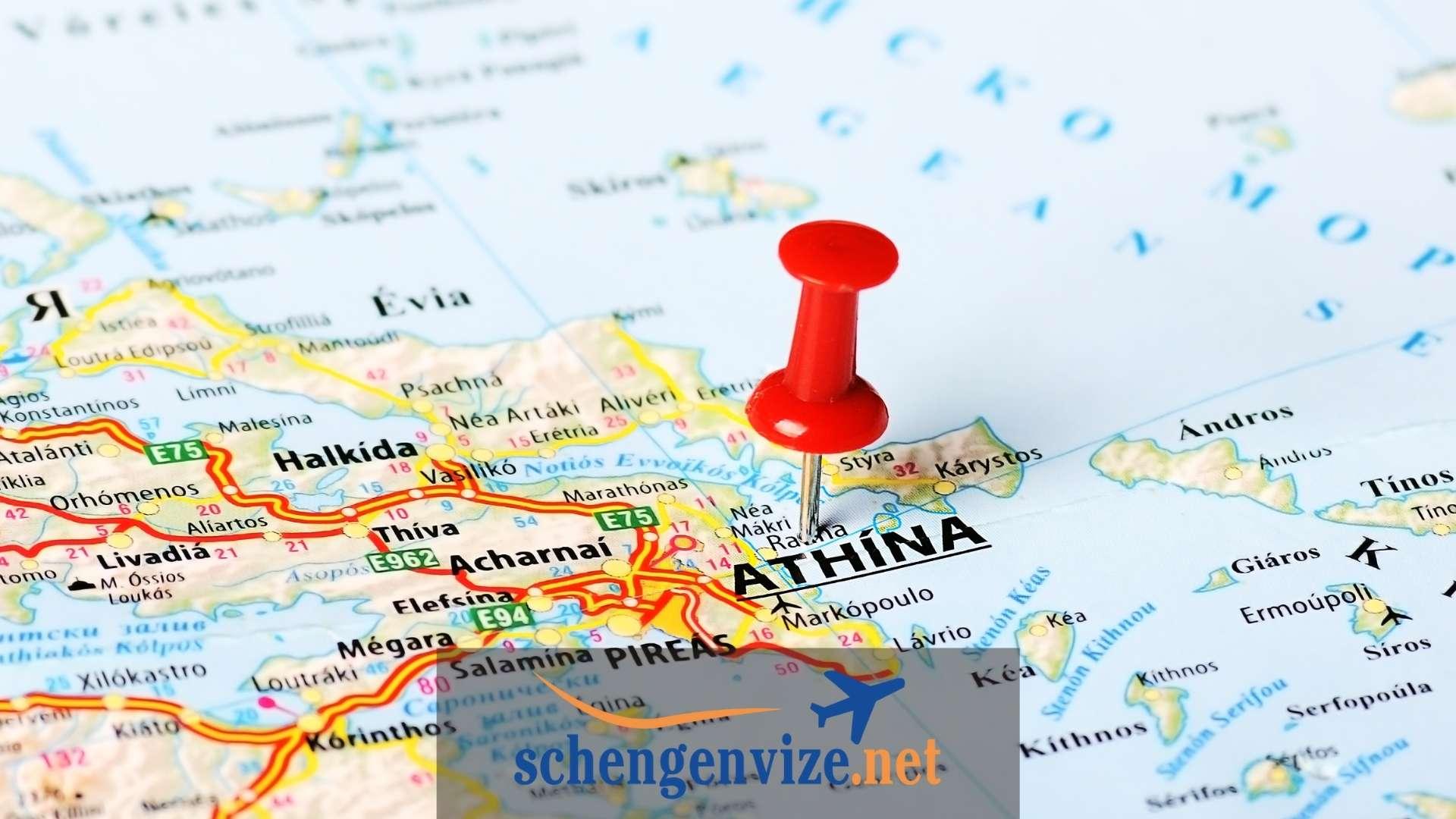 Yunanistan Haritası