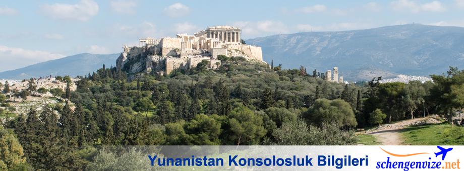 Yunanistan Konsolosluk Bilgileri