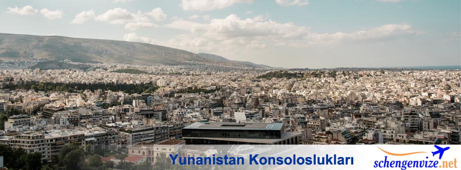 Yunanistan Konsoloslukları