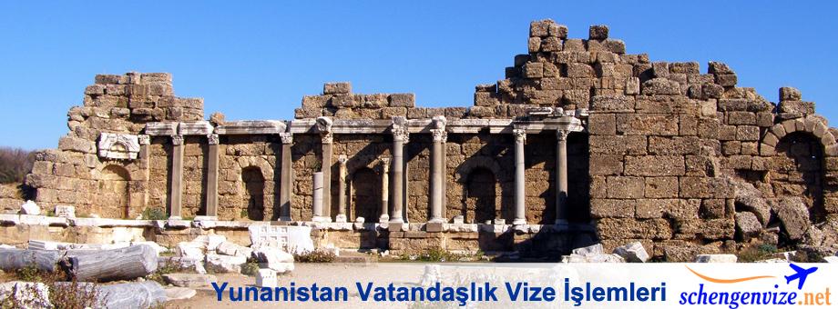 Yunanistan Vatandaşlık Vize İşlemleri