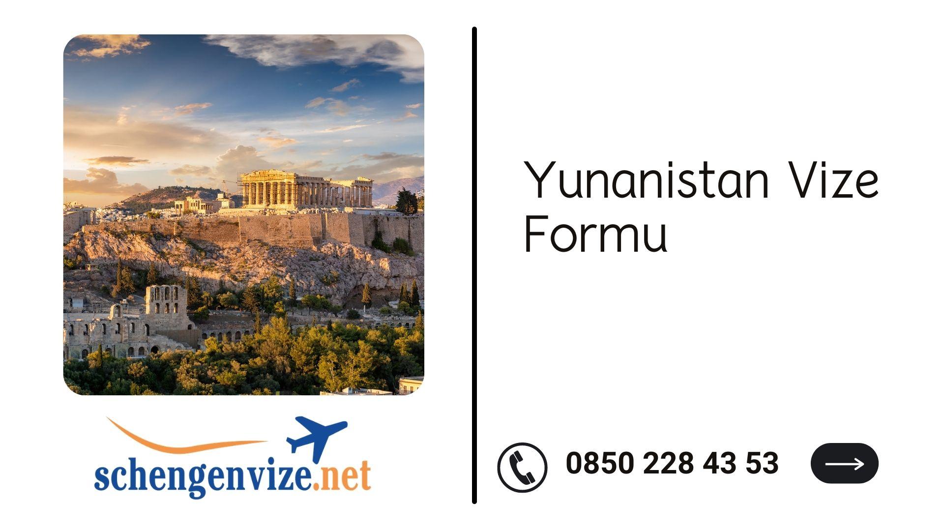 Yunanistan Vize Formu